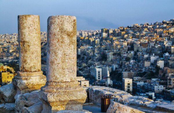 Ciudadela de Amán en Jordania