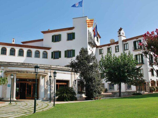 Histórico Hotel de la Gavina en S´Agaro en Costa Brava