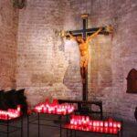 Rincón de la Basílica de Santa María del Mar en Barcelona
