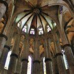 Cabecera de la Basílica de Santa María del Mar en Barcelona