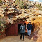 Minas de hierro en el parque minero del Maestrat en Castellón