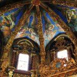 Frescos renacentistas en el interior de la catedral de Valencia