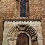 Pörtico románico en la catedral de Valencia