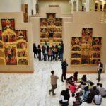 Gótico valenciano en el museo de Bellas Artes de Valencia