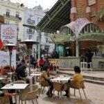 Terraza en el Mercado Colón en Valencia