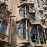 Fachada de la Casa Batlló de Gaudí en Barcelona