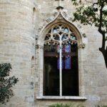 Rincón del patio de la Lonja de la Seda en Valencia