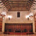 Cámara Dorada del Consulado del Mar en la Lonja de la Seda en Valencia