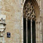 Fachada exterior de la Lonja de la Seda en Valencia