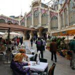 Acceso al Mercado Central de Valencia