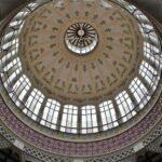 Gran cúpula central del Mercado Central de Valencia