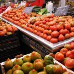 Tomates del Perelló en el Mercado Central de Valencia
