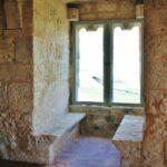 Interior del castillo de Tiedra en Valladolid
