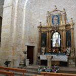 Altar de la Ermita de la Anunciada en Urueña