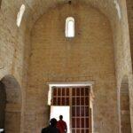 Interior de la Ermita de la Anunciada en Urueña en la provincia de Valladolid