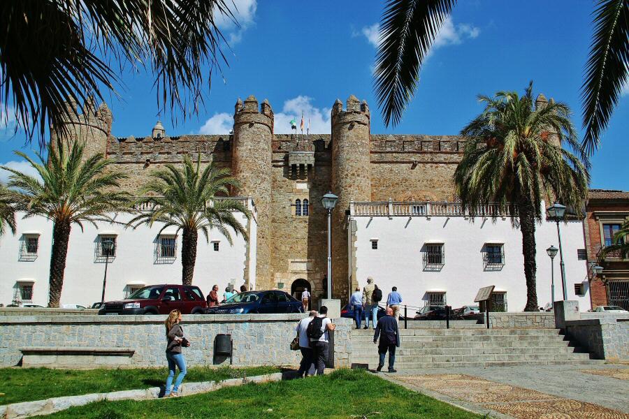 Palacio de los Duques de Feria, ahora parador de turismo de Zafra en Badajoz