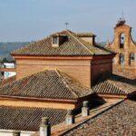 Antigua iglesia de Santa Marina junto al palacio de los Duques de Feria en Zafra