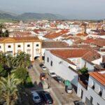 Vistas panorámicas de Zafra desde muralla del palacio de los Condes de Feria
