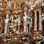 Decoración escultórica de la Capilla de los Benavente en Medina de Rioseco