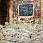 Sepulcro en la Capilla de los Benavente en Medina de Rioseco