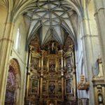 Retablo mayor de la iglesia de Santa María en Medina de Rioseco