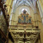 Organo de la iglesia de Santa María en Medina de Rioseco