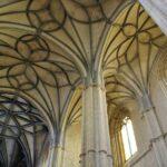 Bóvedas de la iglesia de Santa María en Medina de Rioseco