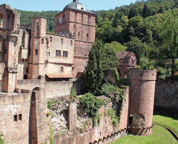 Castillo de Heidelberg en Alemania