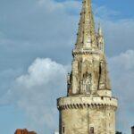 Mirador de la Torre de la Linterna en La Rochelle al oeste de Francia
