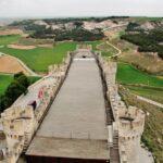 Ala sur del castillo de Peñafiel