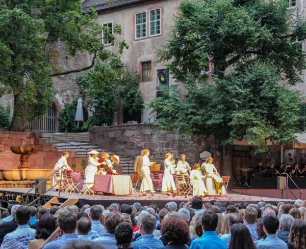Festival del castillo de Heidelberg en Alemania