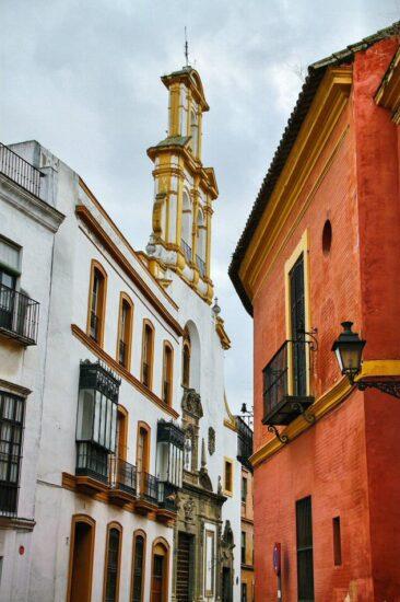 Iglesia de Santa Cruz en el Barrio de Santa Cruz de Sevilla