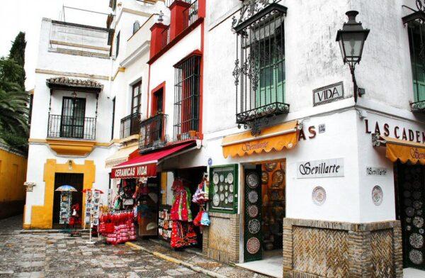 Rincón del Barrio Santa Cruz en Sevilla