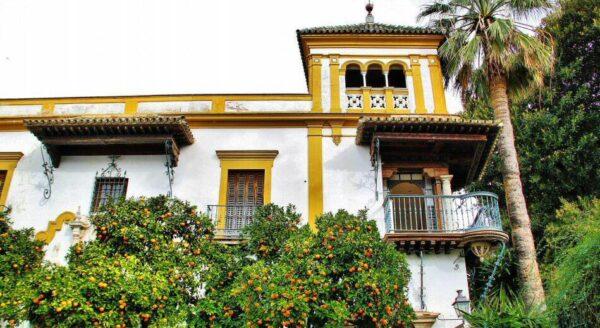 Rincón del Barrio de Santa Cruz en Sevilla