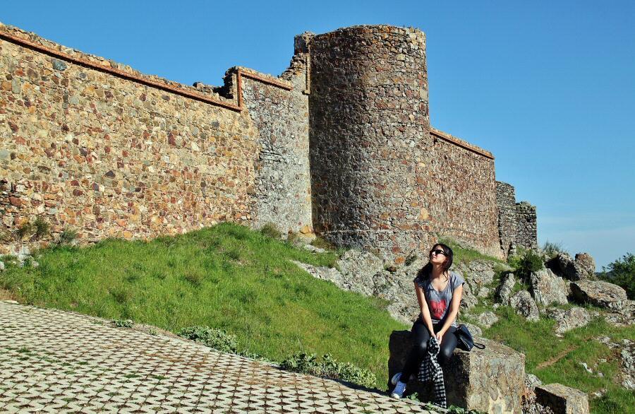 Castillo de Feria en Badajoz  Guías Viajar