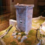 Maqueta en el museo del castillo de Feria en Badajoz