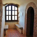 Interior del castillo de Feria en Badajoz
