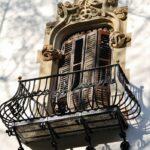 Decoración con forja en el Palau Macaya de Barcelona