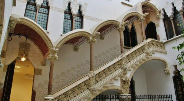 Palau Macaya. arquitectura modernista en Barcelona
