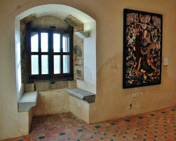 Castillo de Feria en la provincia de Badajoz en Extremadura