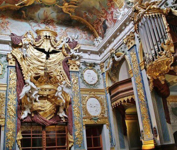 Estancia del palacio de Charlottenburg en Berlín