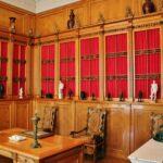 Despacho en el palacio de Charlottenburg en Berlín