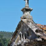 Hórreos en Combarro en las Rías Bajas de Galicia