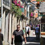 La Rúa de Combarro en las Rías Bajas de Galicia