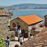 Rincón de Combarro en las Rías Bajas de Galicia