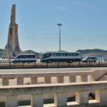 Paso subterráneo hacia el monumento a los Descubrimientos en Belem