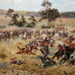Panorama de la Batalla de Raclawice en Wroclaw en Polonia