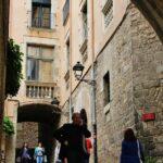 Rincón de la Cuesta de San Domenec en Girona