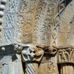 Pórtico del monasterio de Sant Pere de Galligants en Girona