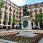 Plaza de la Independencia en Girona